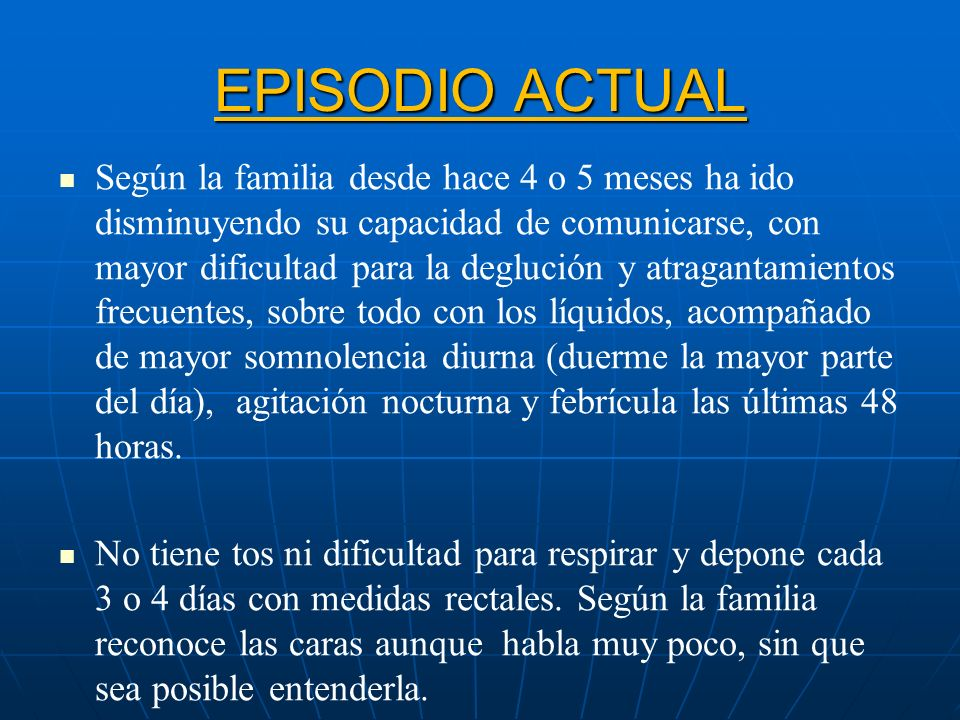 EPISODIO ACTUAL