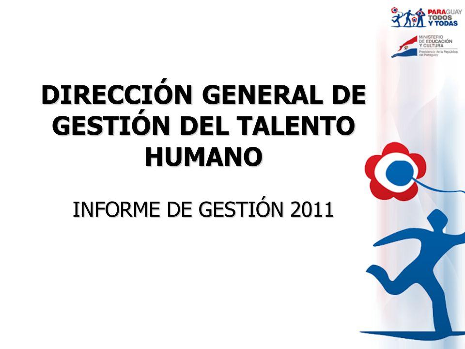 DIRECCIÓN GENERAL DE GESTIÓN DEL TALENTO HUMANO
