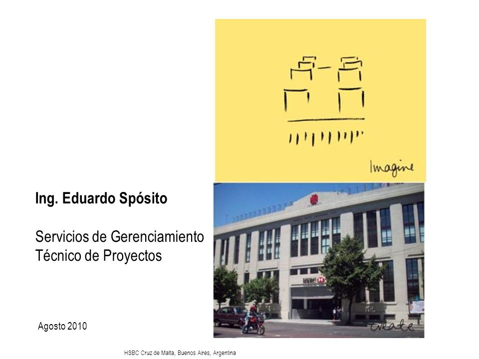 Ing. Eduardo Spósito Servicios de Gerenciamiento Técnico de Proyectos