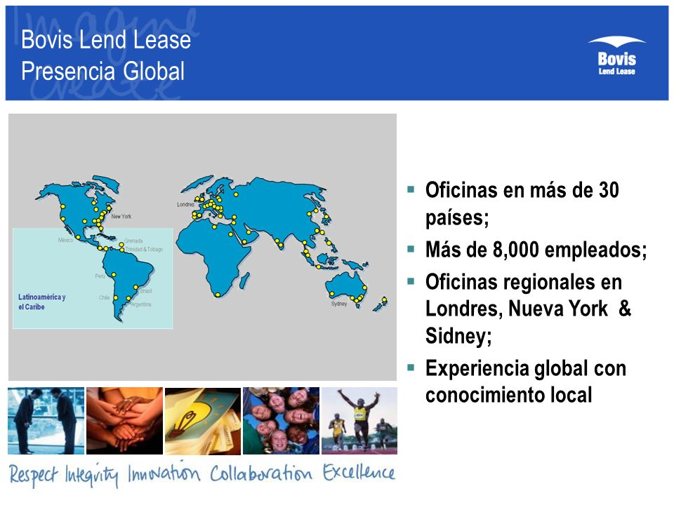 Bovis Lend Lease Presencia Global