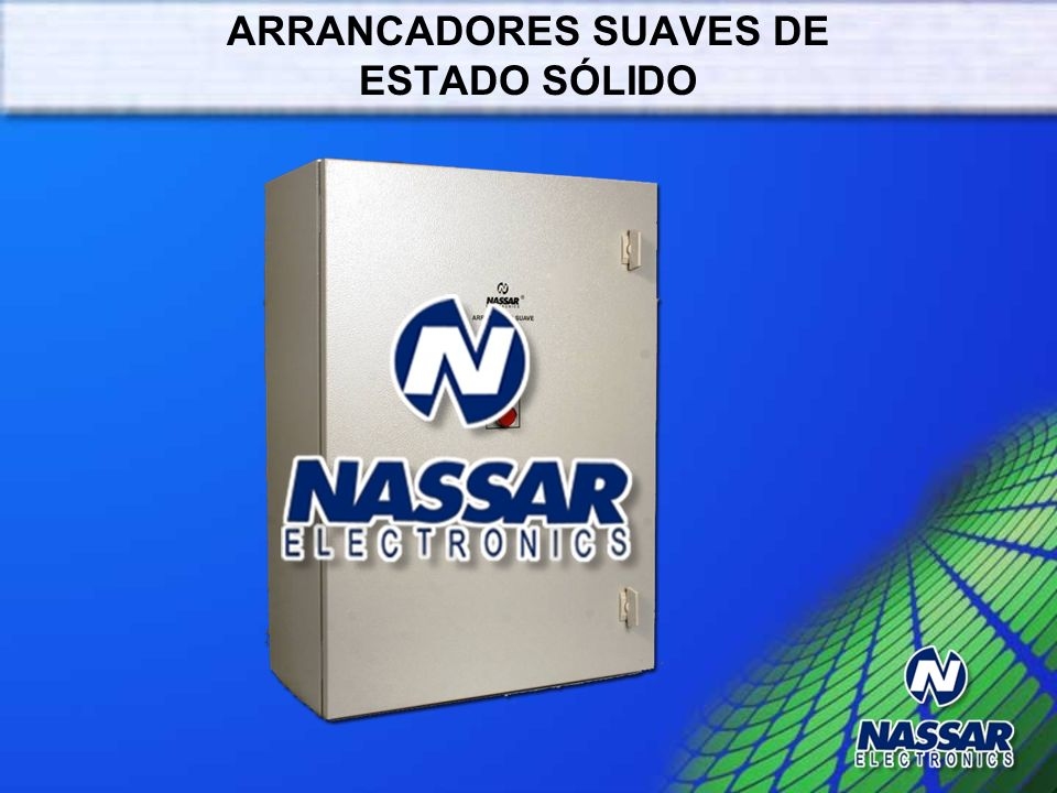 ARRANCADORES SUAVES DE ESTADO SÓLIDO