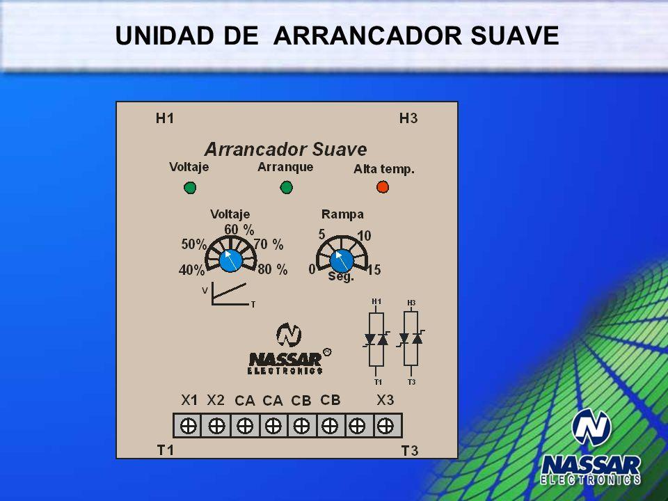 UNIDAD DE ARRANCADOR SUAVE