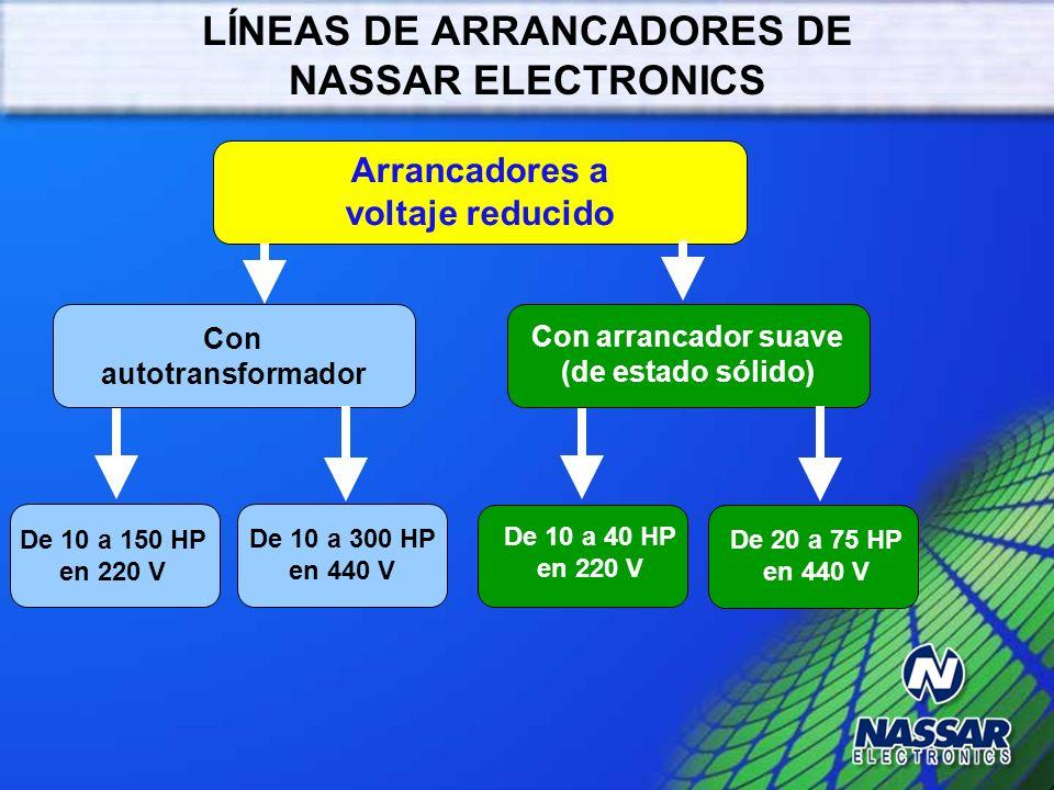 LÍNEAS DE ARRANCADORES DE NASSAR ELECTRONICS