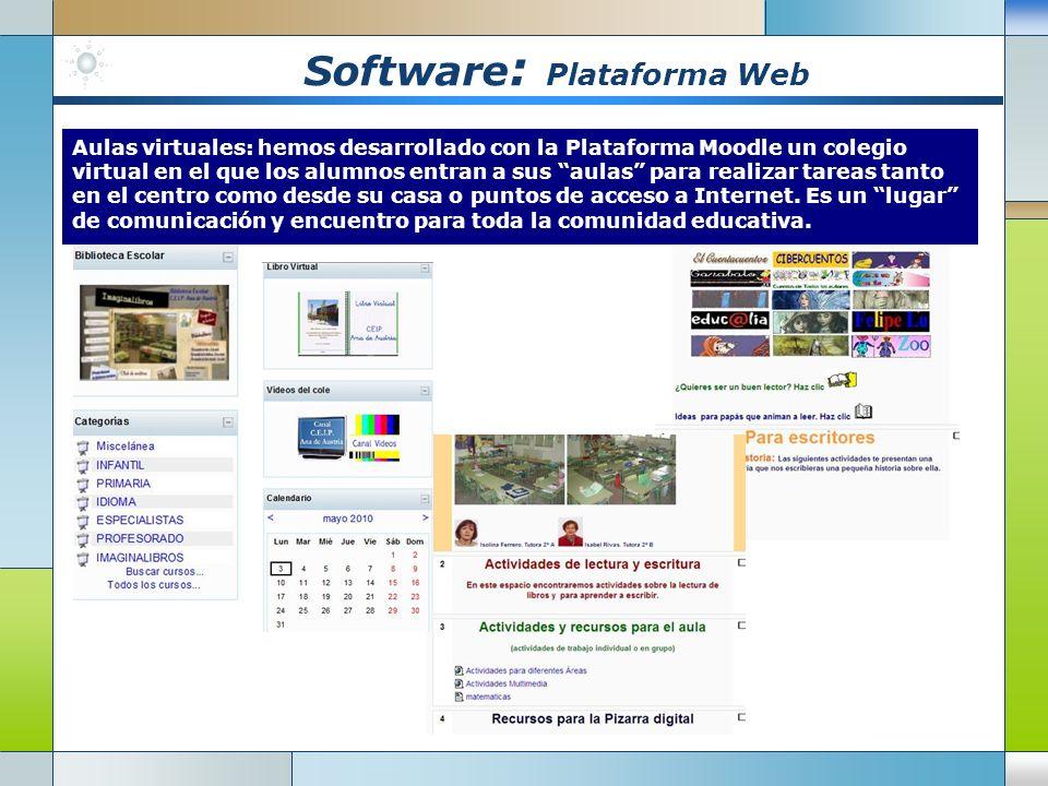 Software: Plataforma Web