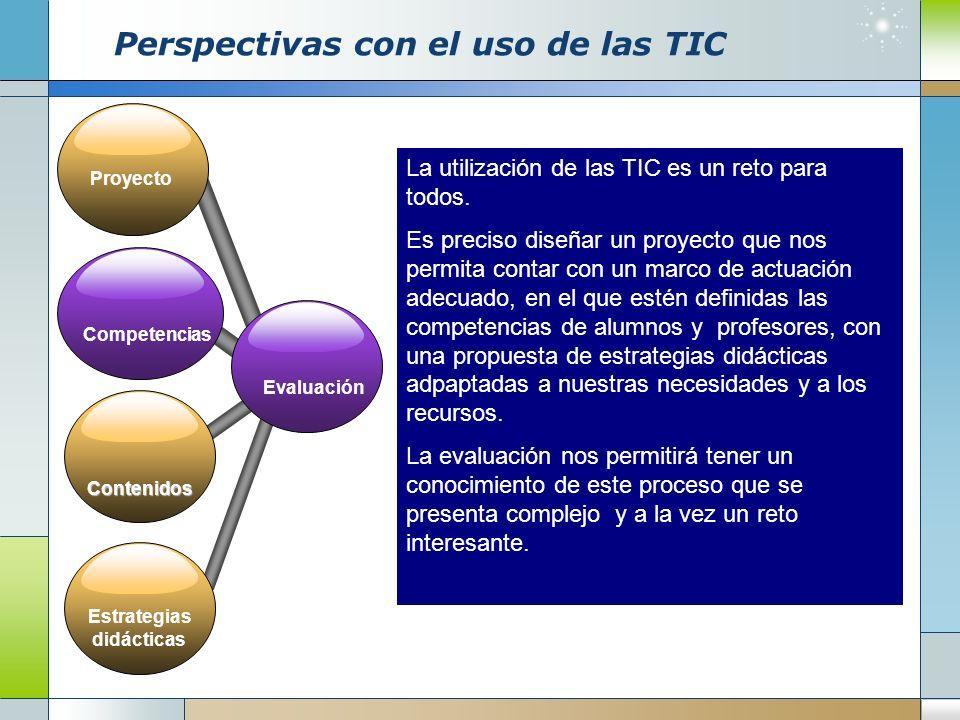 Perspectivas con el uso de las TIC