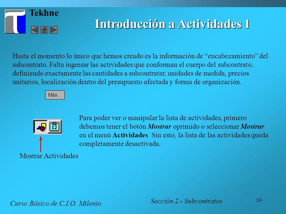 Introducción a Actividades 1