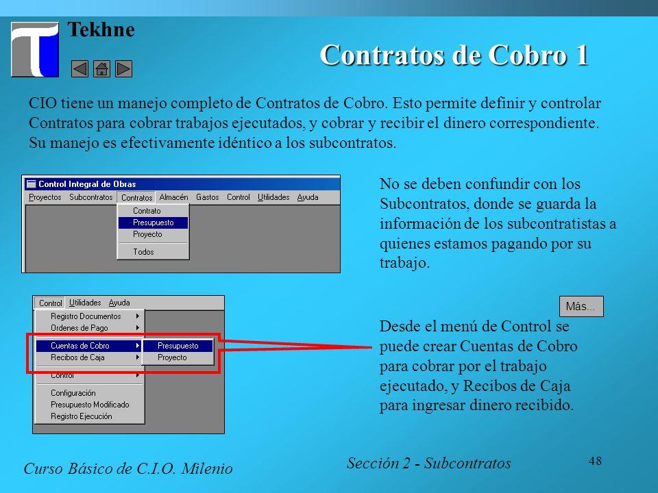 Contratos de Cobro 1 Tekhne