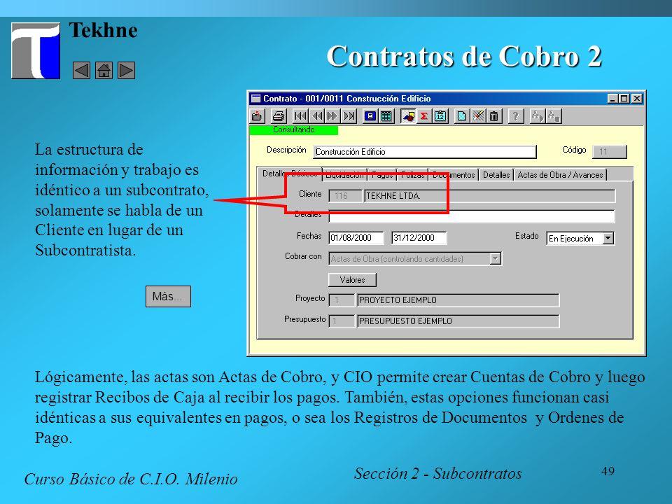 Contratos de Cobro 2 Tekhne