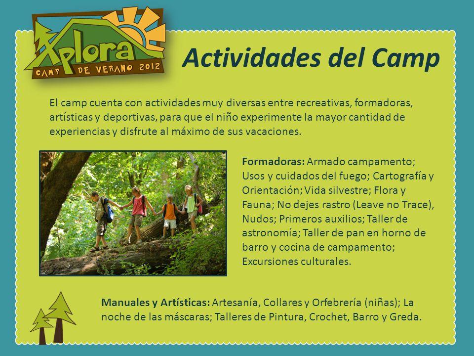 Actividades del Camp