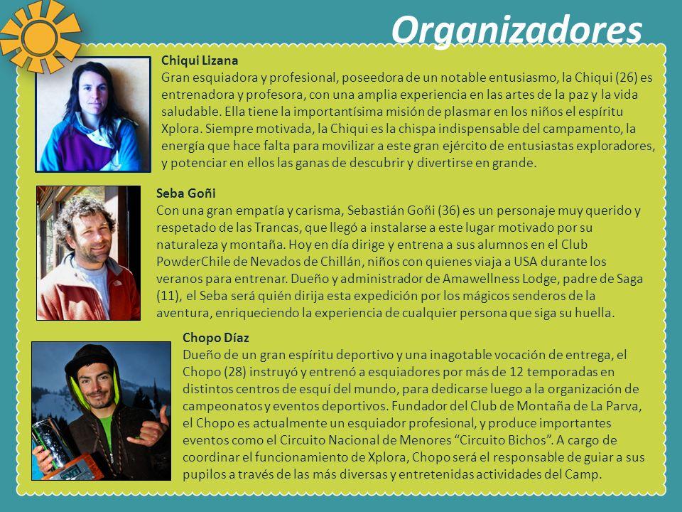 Organizadores Chiqui Lizana