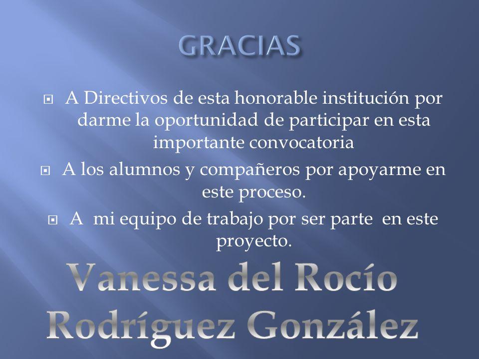 Vanessa del Rocío Rodríguez González