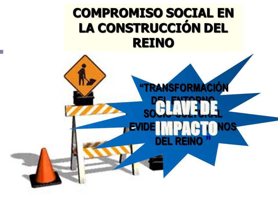 COMPROMISO SOCIAL EN LA CONSTRUCCIÓN DEL REINO