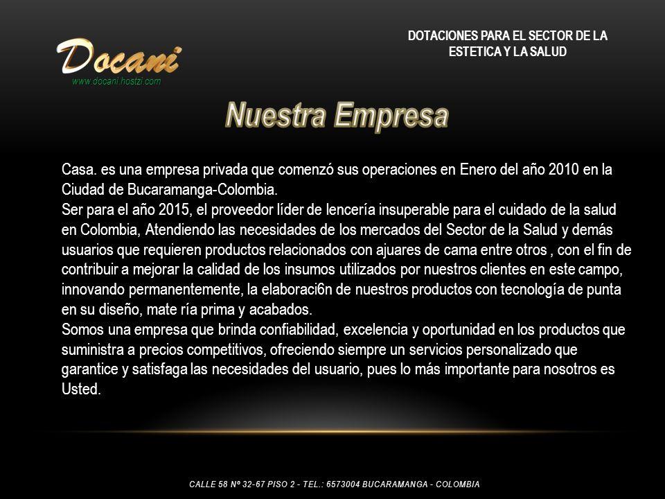 DOTACIONES PARA EL SECTOR DE LA ESTETICA Y LA SALUD