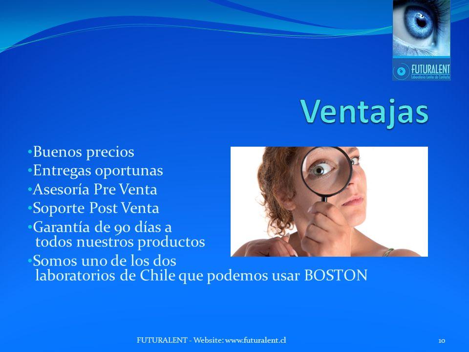 Ventajas Buenos precios Entregas oportunas Asesoría Pre Venta