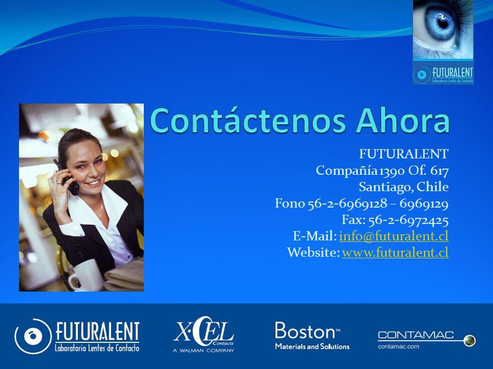 Contáctenos Ahora FUTURALENT Compañía 1390 Of. 617 Santiago, Chile