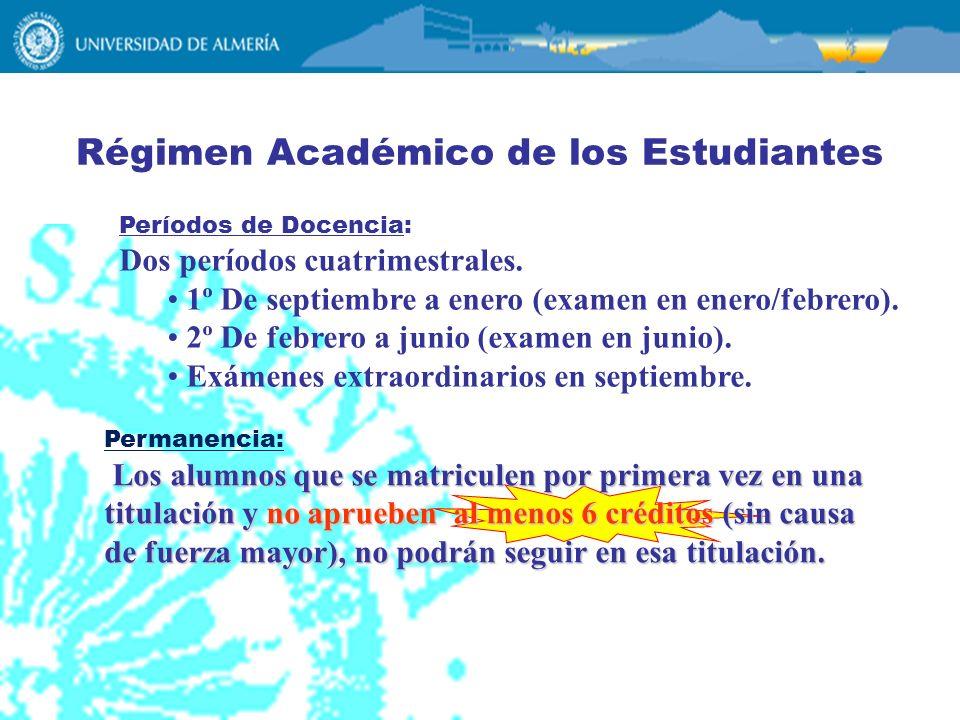 Régimen Académico de los Estudiantes