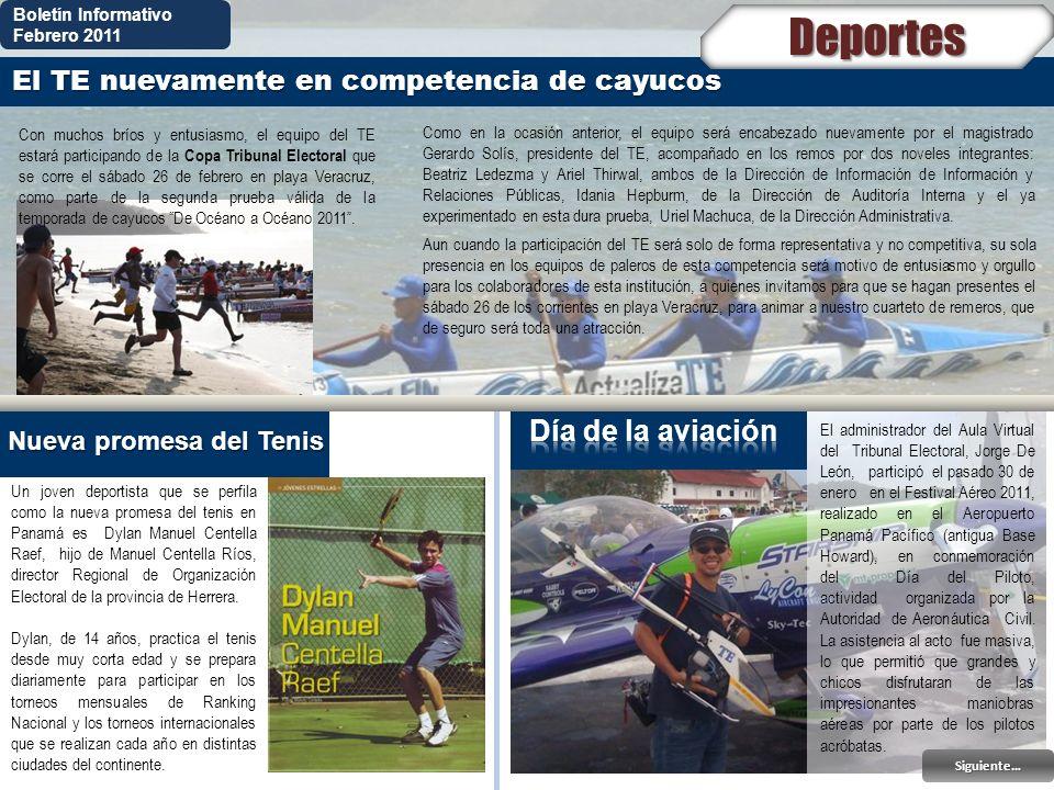 Deportes Día de la aviación El TE nuevamente en competencia de cayucos