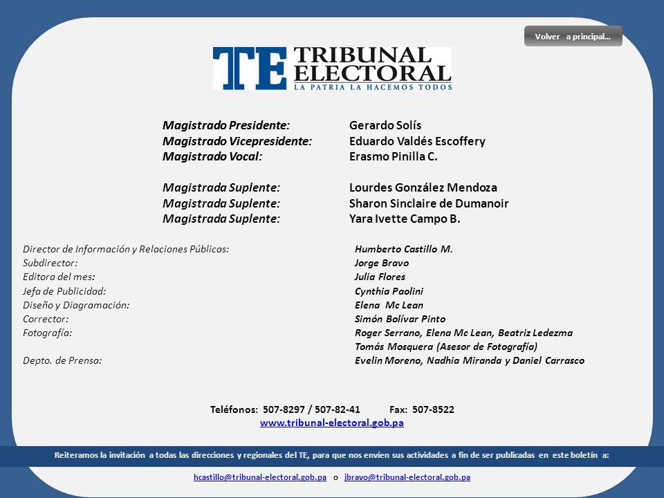 hcastillo@tribunal-electoral.gob.pa o jbravo@tribunal-electoral.gob.pa
