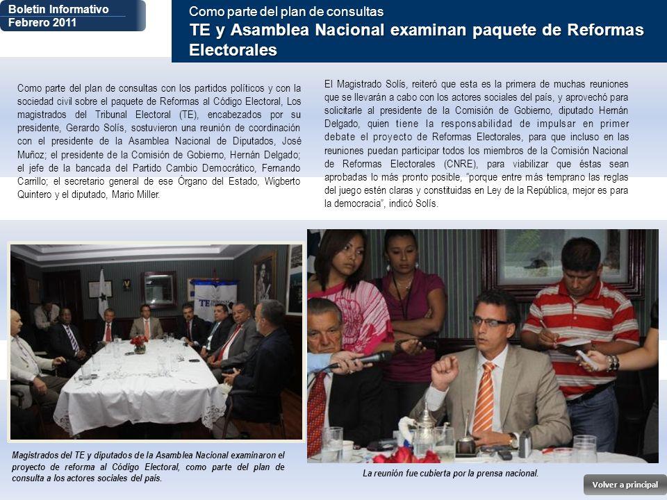 La reunión fue cubierta por la prensa nacional.