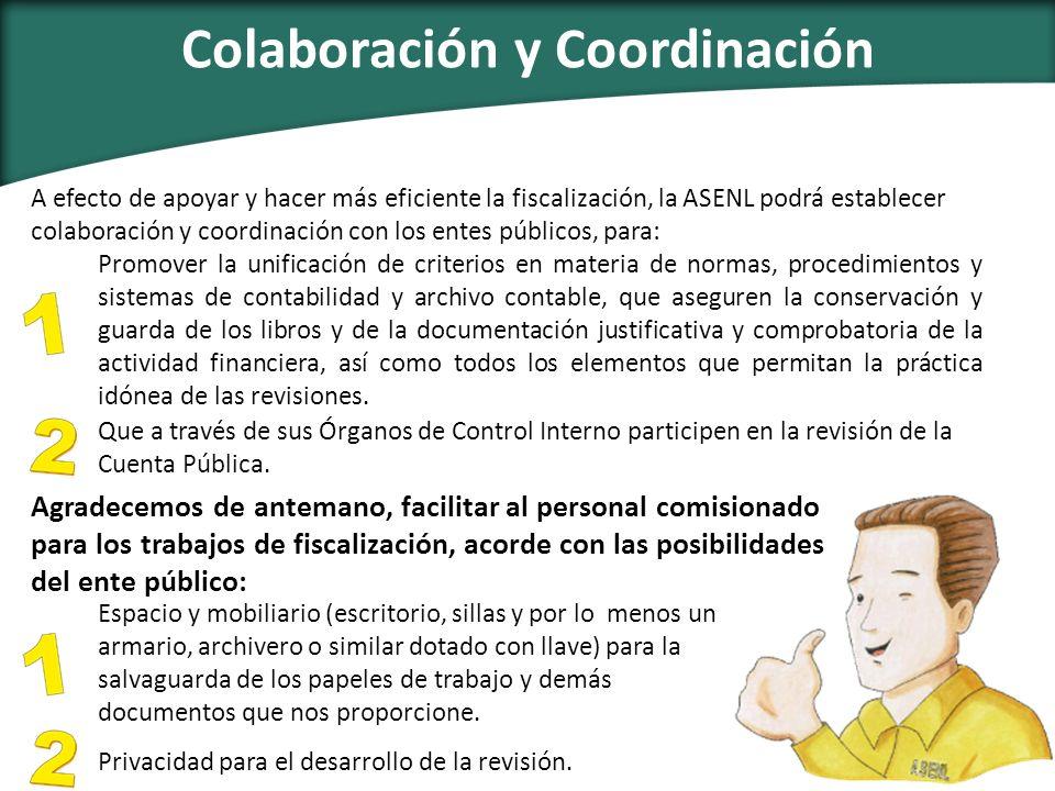 Colaboración y Coordinación
