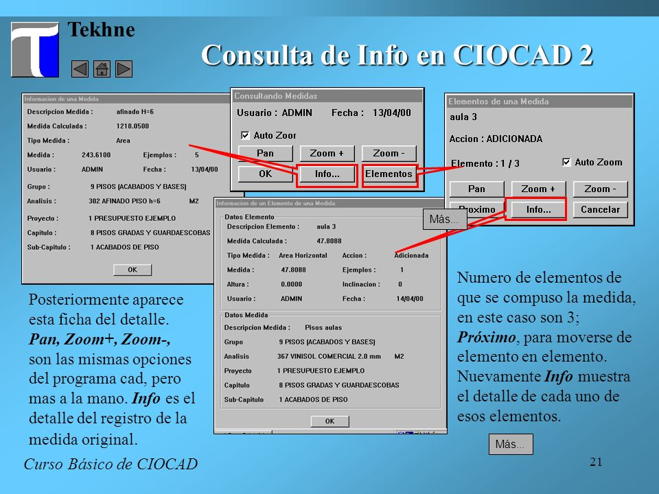 Consulta de Info en CIOCAD 2
