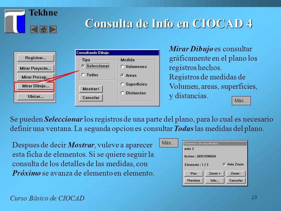 Consulta de Info en CIOCAD 4