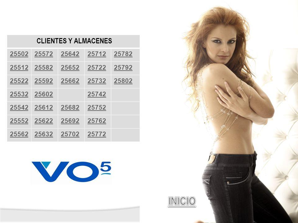 INICIO CLIENTES Y ALMACENES 25502 25572 25642 25712 25782 25512 25582