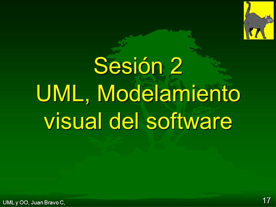 Sesión 2 UML, Modelamiento visual del software