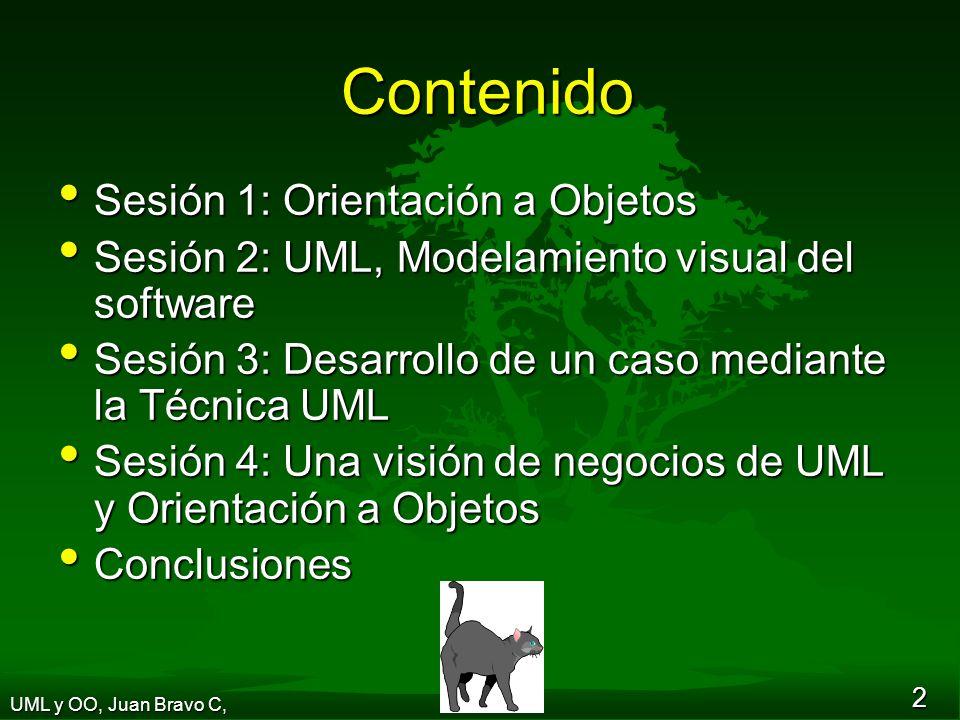 Contenido Sesión 1: Orientación a Objetos