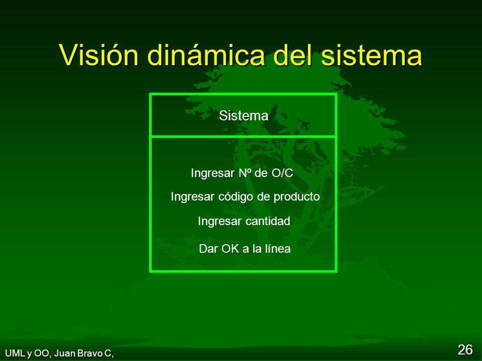 Visión dinámica del sistema