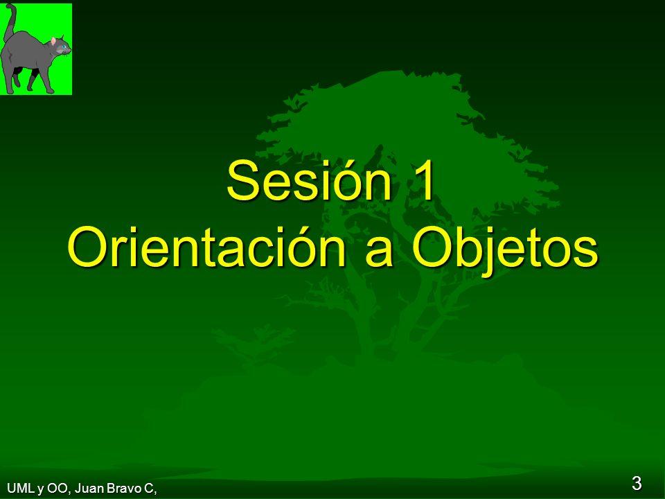 Sesión 1 Orientación a Objetos