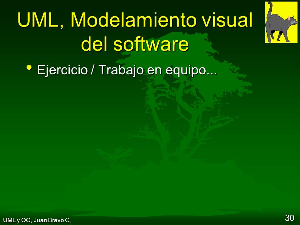 UML, Modelamiento visual del software