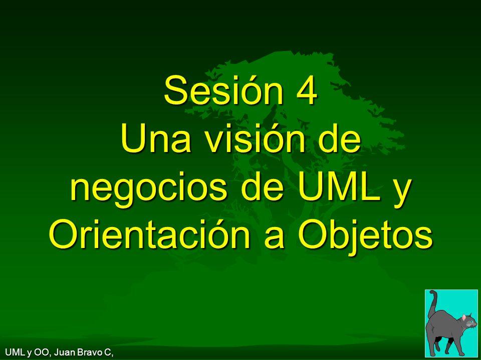 Sesión 4 Una visión de negocios de UML y Orientación a Objetos