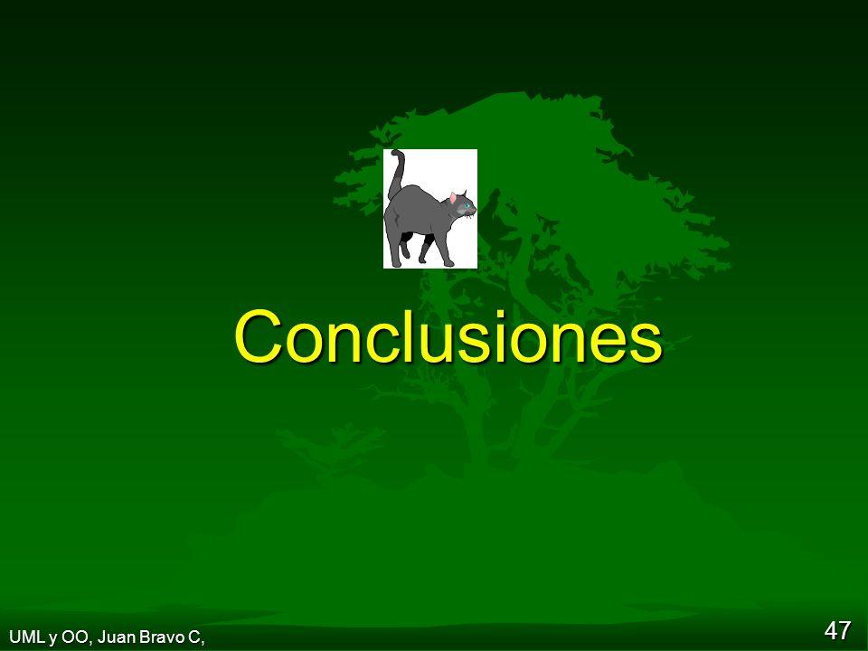 Conclusiones UML y OO, Juan Bravo C,