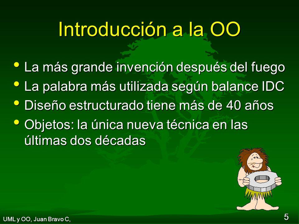 Introducción a la OO La más grande invención después del fuego