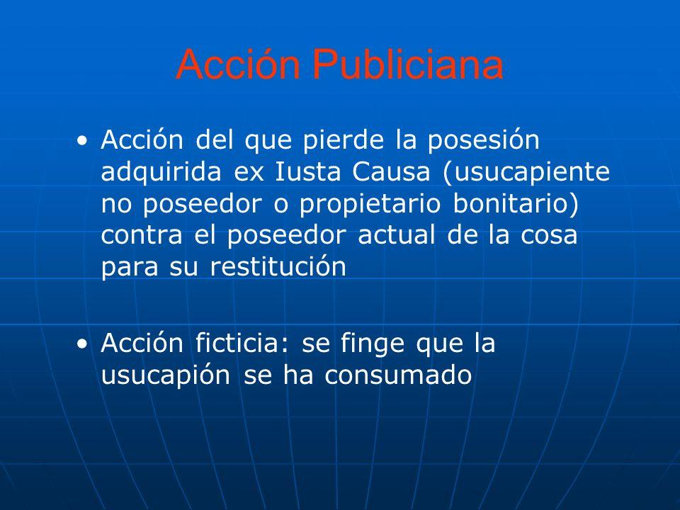 Acción Publiciana