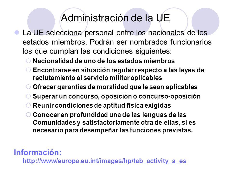 Administración de la UE