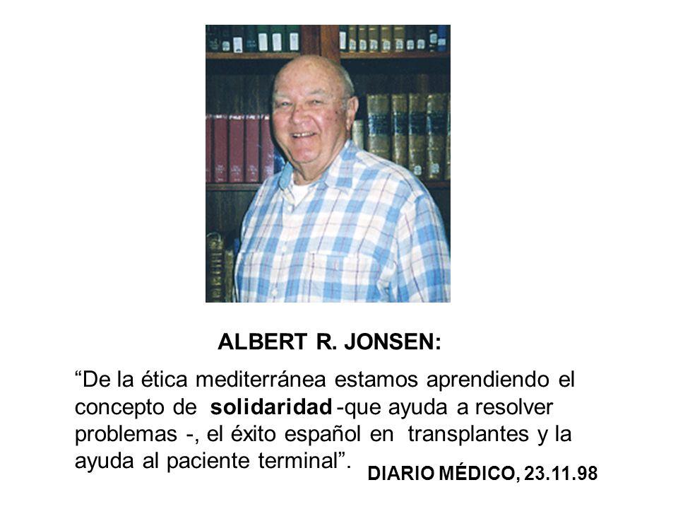 ALBERT R. JONSEN: