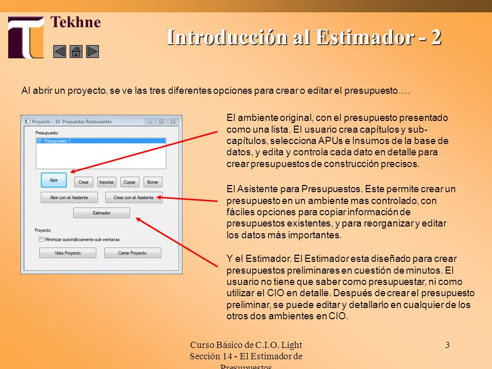 Introducción al Estimador - 2