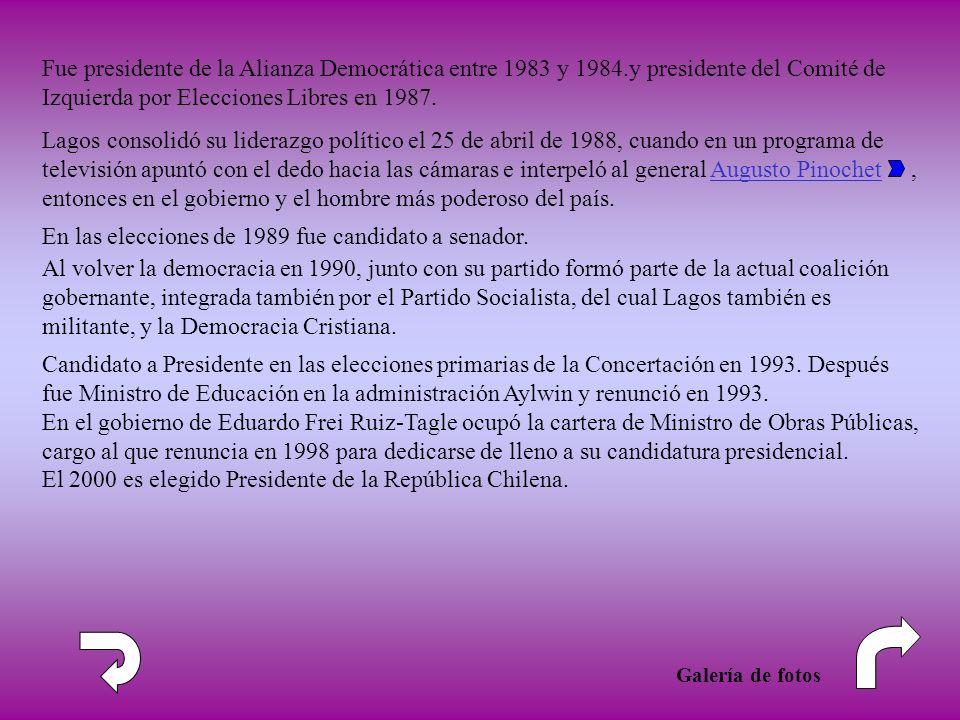 En las elecciones de 1989 fue candidato a senador.