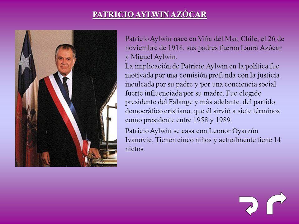 PATRICIO AYLWIN AZÓCAR