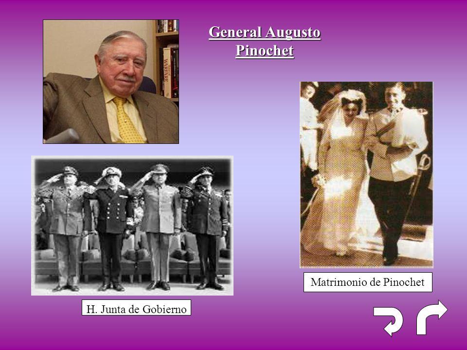 General Augusto Pinochet