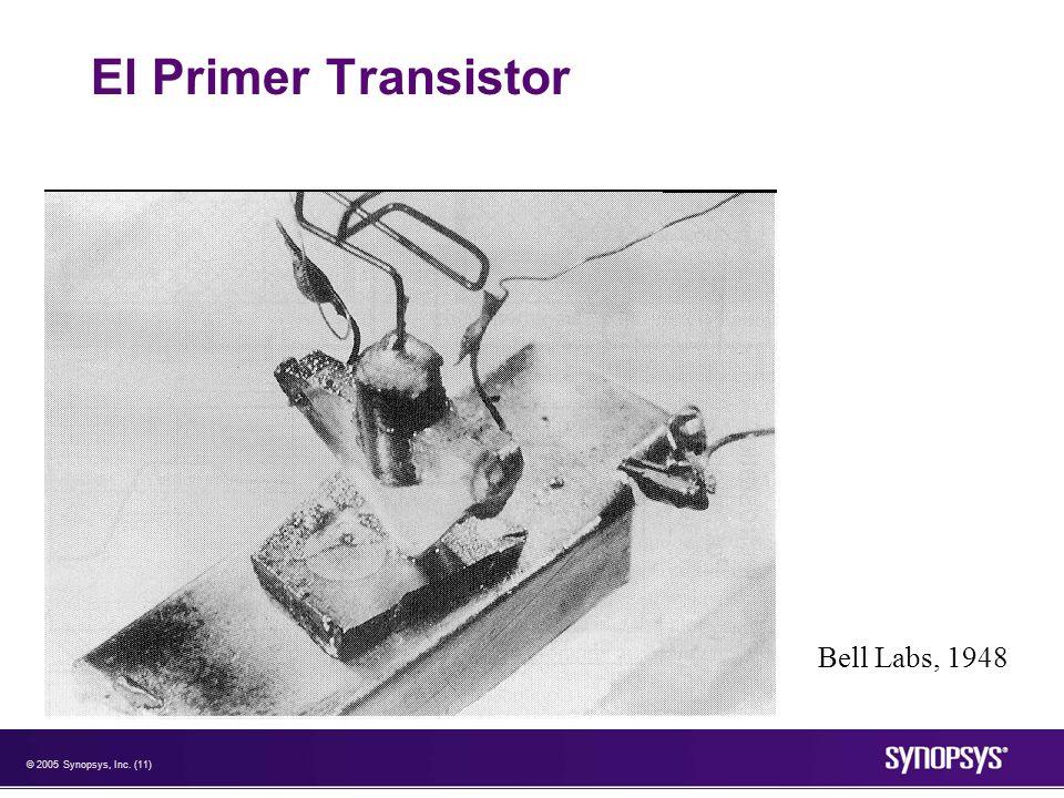 El Primer Transistor Bell Labs, 1948