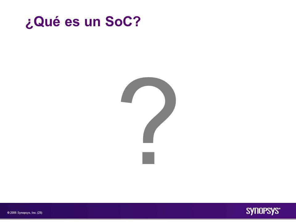 ¿Qué es un SoC