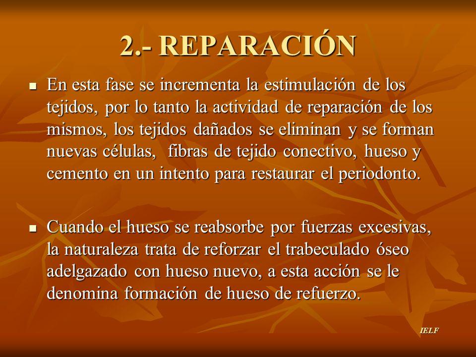 2.- REPARACIÓN