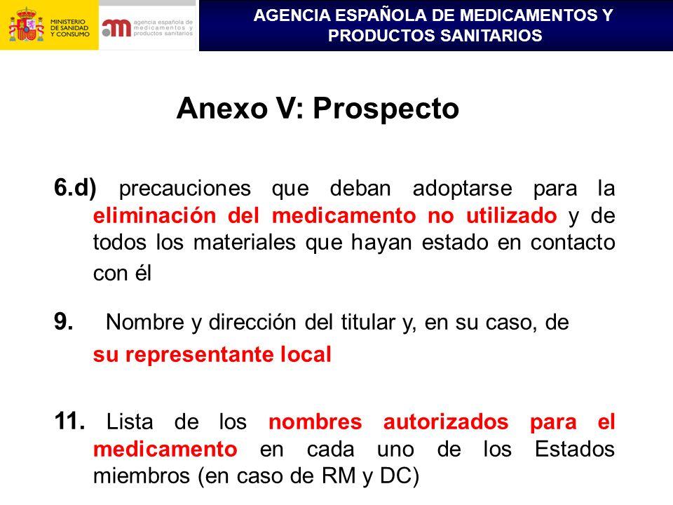Anexo V: Prospecto