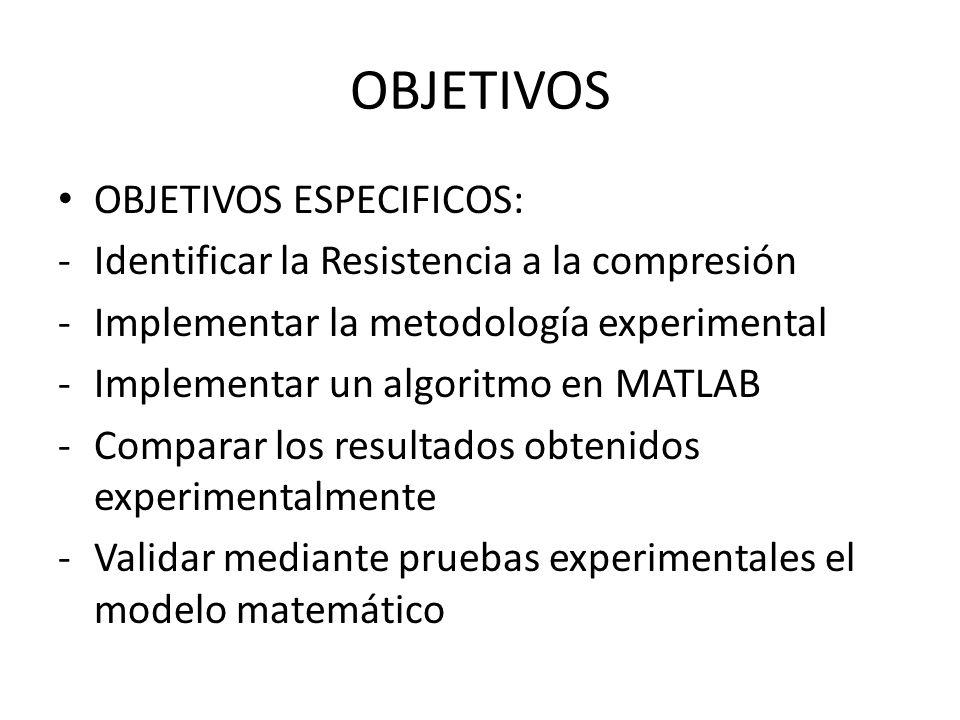OBJETIVOS OBJETIVOS ESPECIFICOS: