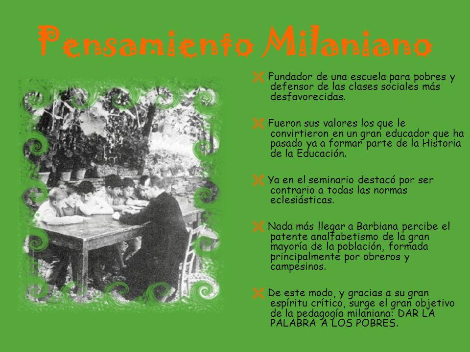 Pensamiento Milaniano