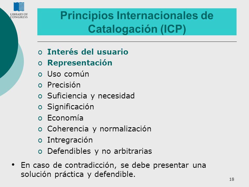 Principios Internacionales de Catalogación (ICP)