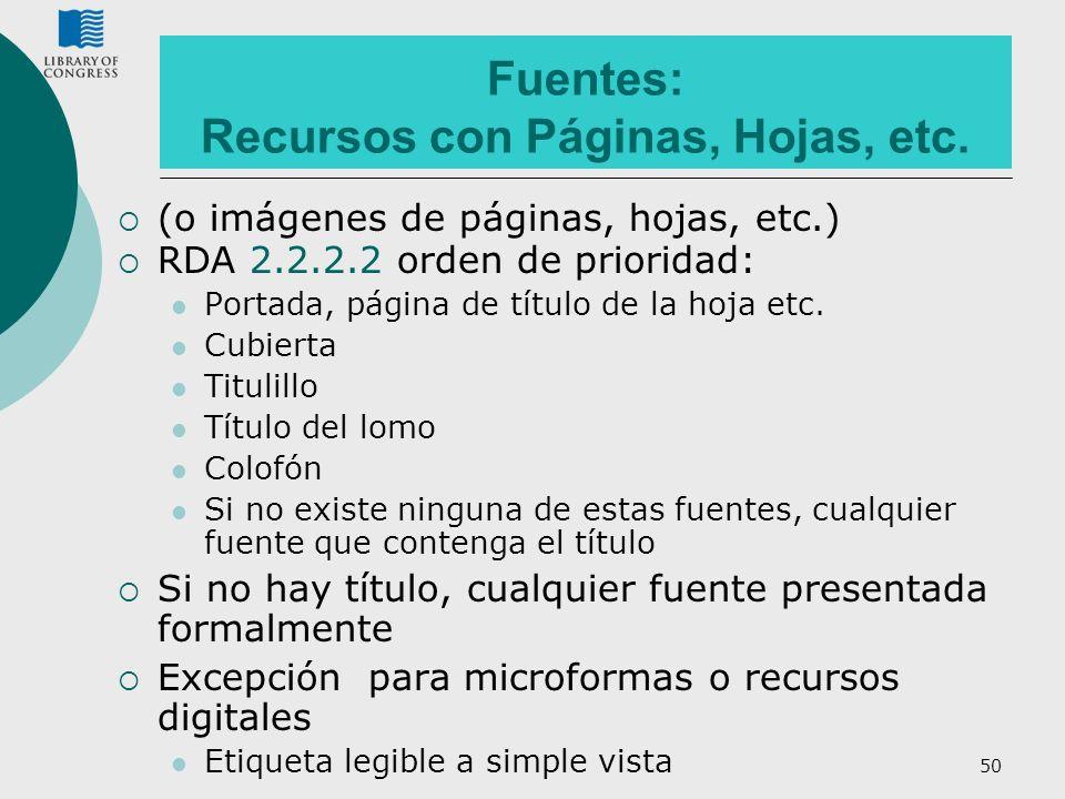 Fuentes: Recursos con Páginas, Hojas, etc.